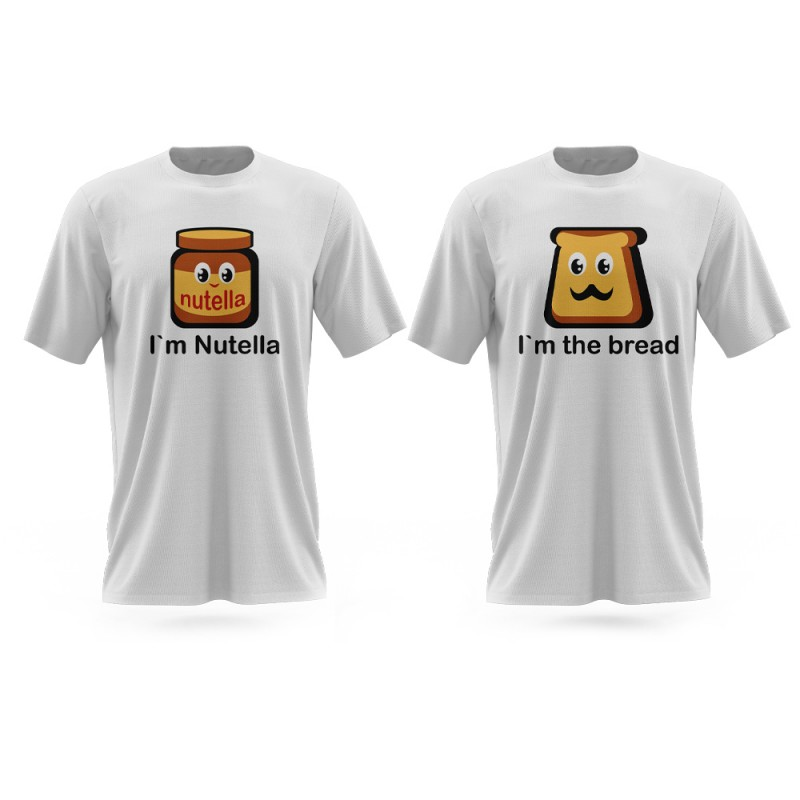 T-shirts «Nutella + bread»