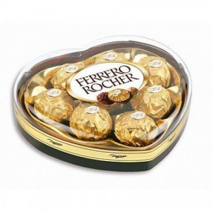 Ferrero Rocher (heart)